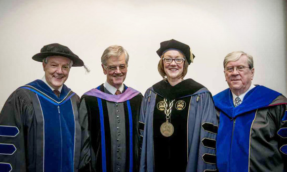 The King's University's past and current presidents