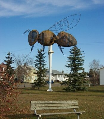 Large Bee Statue