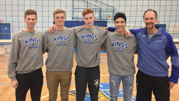 Eagles volleyball recruits four of Alberta's best players