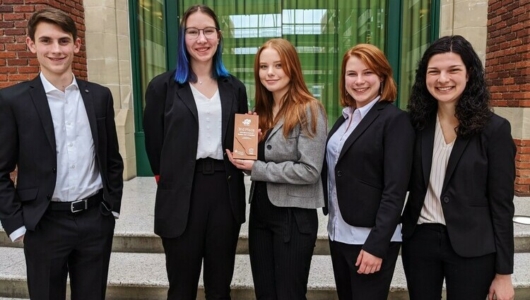 King's business students bring home third place