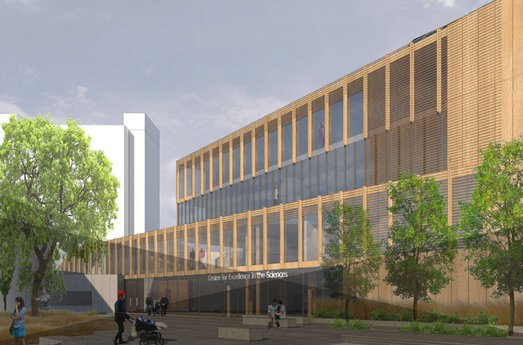 Design for the Centre For Excellence in the Sciences