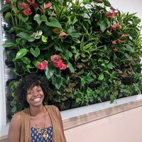 Green Wall Instalation a Highlight for Charmaine's Internship