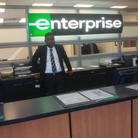 "Business student Gideon completes his internship under the leadership of ""fun, energetic and supportive"" managers at Enterprise"