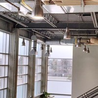 Efficient lighting systems reduce campus power consumption
