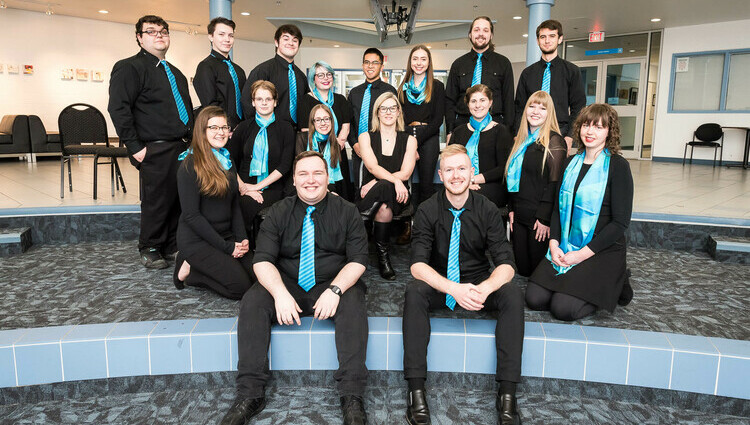 Chamber choir performs for penitentiary inmates