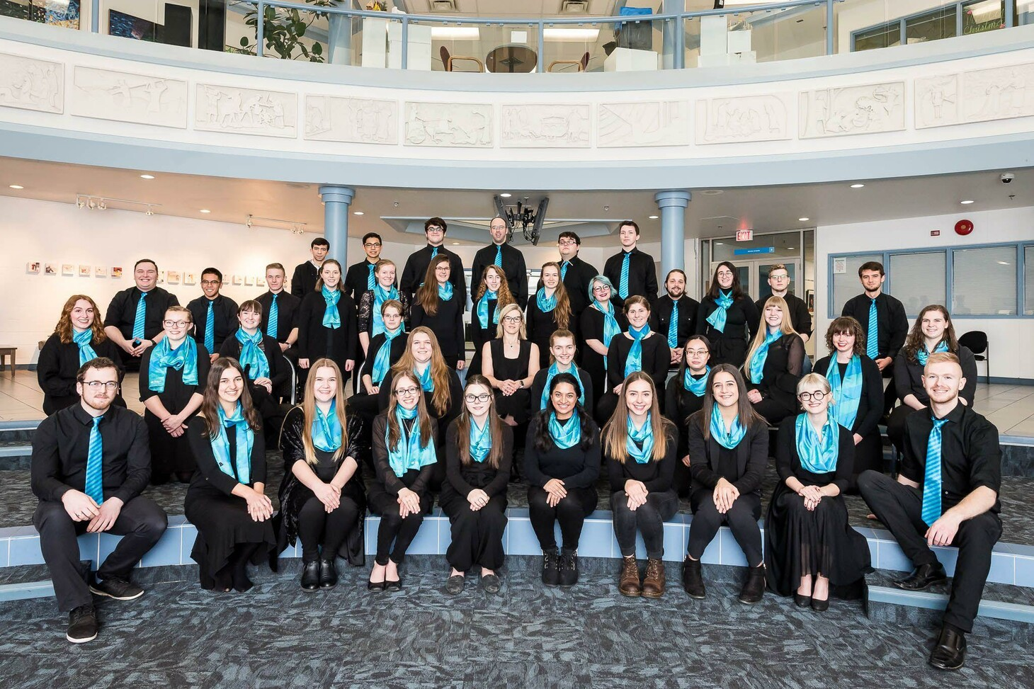 The King's University Concert Choir (Winter 2020), now named King's Cantorum