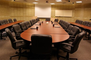 Rent the Conference Room N101 at King's which accommodates up to 50 people and includes built-in multi-media equipment.