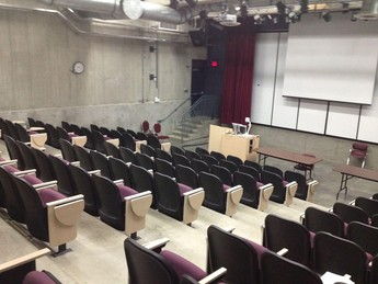 Rent the lecture theatre at King's, which includes an overhead LCD projector, sloped seating and accommodates up to 125 people.