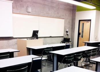 Rent a variety of classrooms at King's, which accommodate up to 50 people.