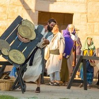 Playing Jesus: King's faculty members and the Canadian Badlands Passion Play
