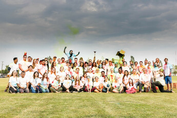 Group photo from Colour Me King's