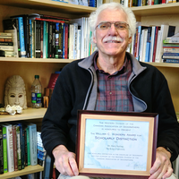 King's professor Dr. Harry Spaling honoured by geographic society