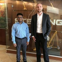 Leder Student Rehan Gains Accounting Experience through Internship with Sterling Crane
