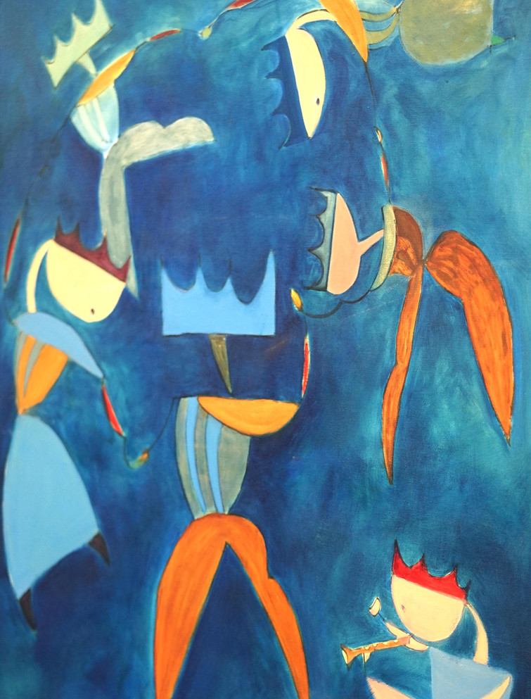 """The King's Players I (Music)"" by Linda Ruiter-Koopmans"