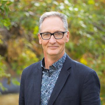 King's professor, Dr. Elden Wiebe