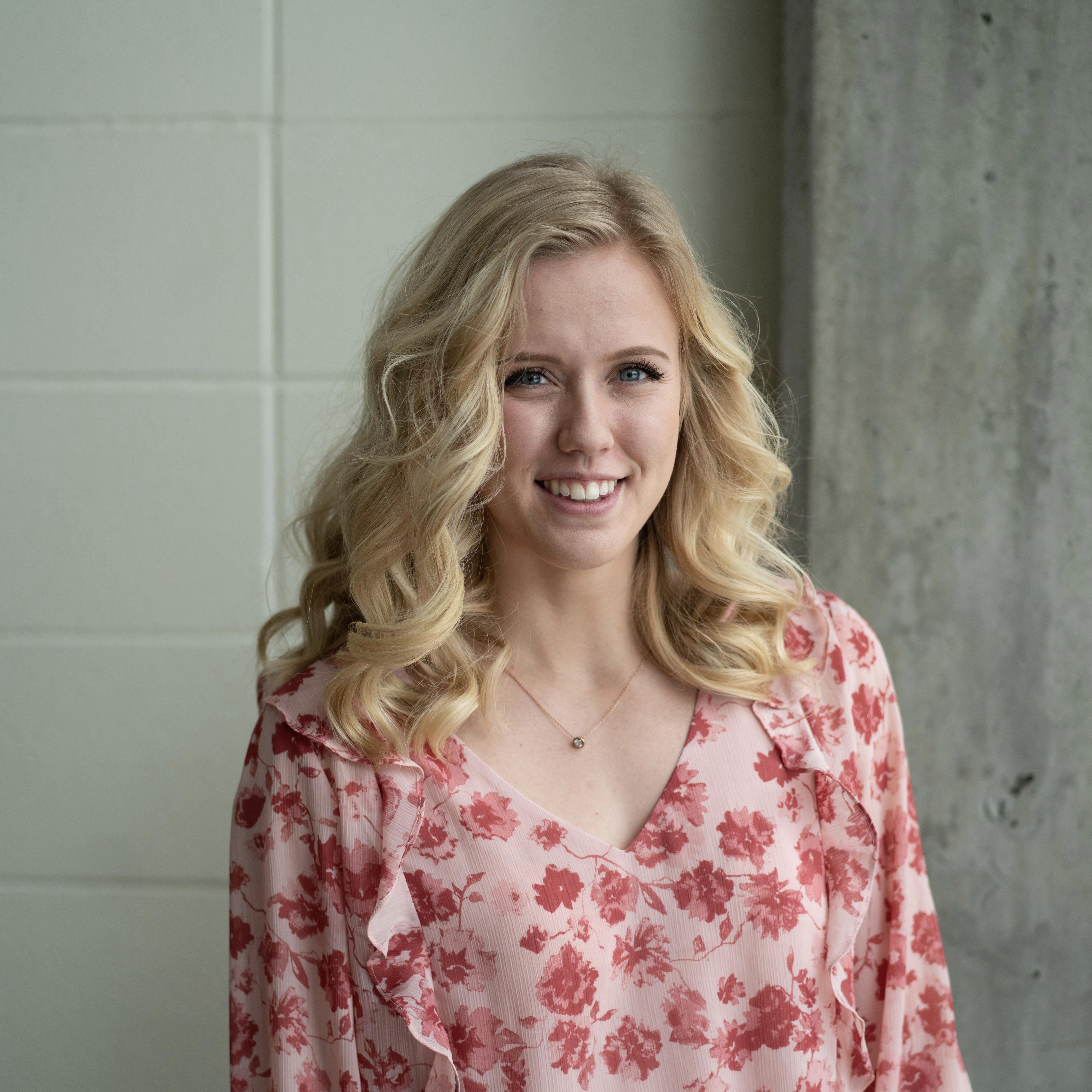King's student, Lauren Kroetsch