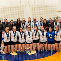 Eagles Take Second Place at CCAA Women's Volleyball National Champions