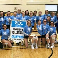 Eagles women's volleyball sweeps ACAC provincial championship